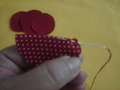 PAP - 3 (Minhas Crias) Tags: flores artesanato fuxico pap tecido retalho trabalhosmanuais passoapasso floraberta