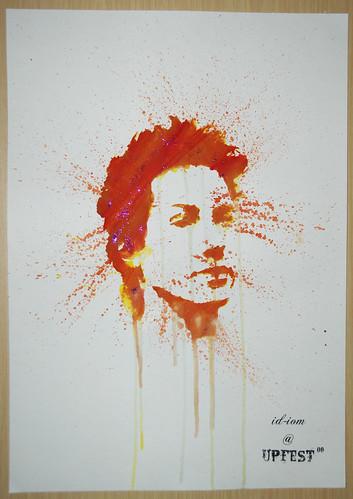 Keanu Reeves - id-iom Upfest freebie