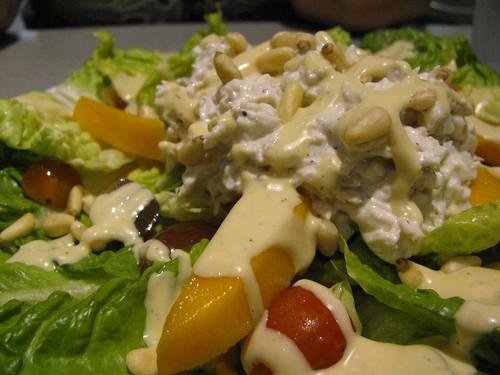 Chicken Salad at Sizzling Pepper Steak