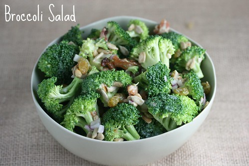 Food Librarian - Broccoli Salad