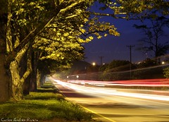 Highway (Carlos Andrs Rivera) Tags: pictures trip travel vacation color beautiful beauty night wonderful de geotagged photography photo colombia long exposure great carlos olympus best sp fotos andres rivera calderon 565 mejores uz cauca popayan carlosrivera carlosarivera