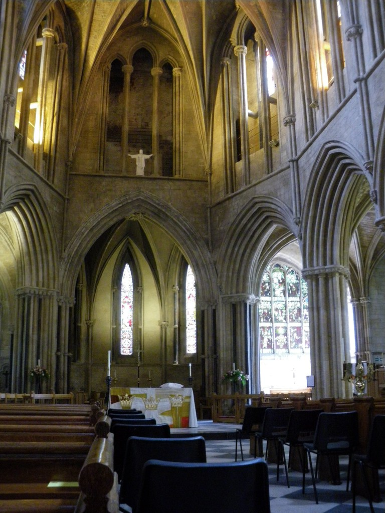 Pershore Abbey interior