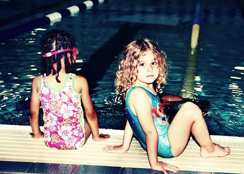 my little swimmer, not.