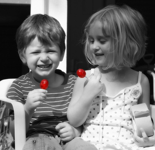 Happiness Is A Red Blowpop