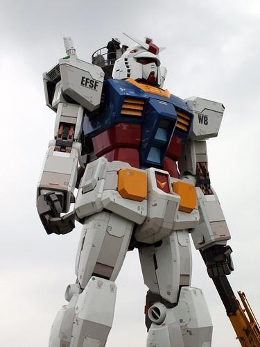 フリー画像| 人工風景| オブジェ| 機動戦士ガンダム| お台場ガンダム| 日本風景| 東京|     フリー素材|