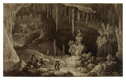 003- Vista del interior de la gruta de Antiparos-Voyage pittoresque de la Grèce 1782