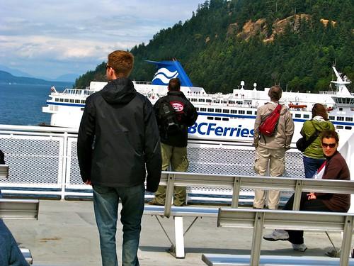 Ferry Rider to Schwartz Bay