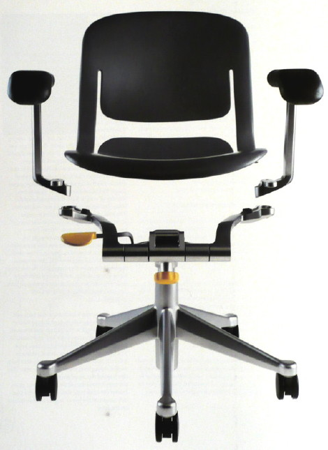 equa chair by herman miller