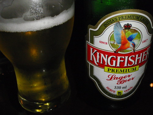 Kingfisher - India (but drank in Dubai)