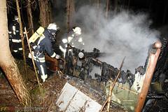 Gartenhüttenbrand Steinbruch 18.06.09