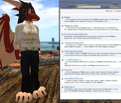 Filipino Groups in Second Life