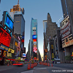 Early Morning - Times Square, New York City, USA