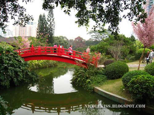 pond in front of katsura imperial villa