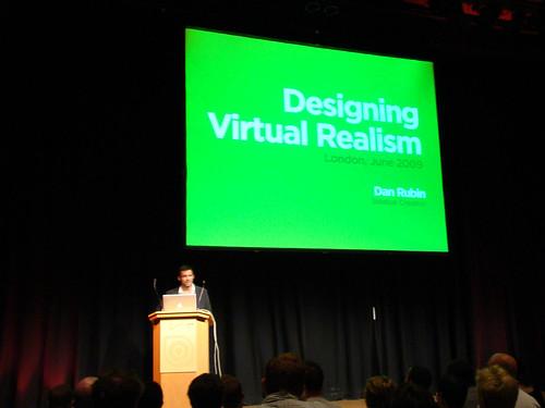 Dan Rubin - Designing Virtual Realism