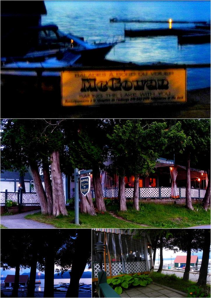 McGowan Inn, Georgeville, Lake Memphremagog