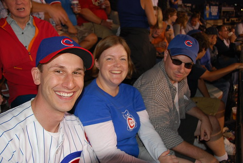 Dan, Lauren, and Dave at Wrigley Field