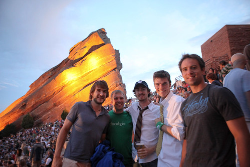 Office Space the Movie at Red Rocks