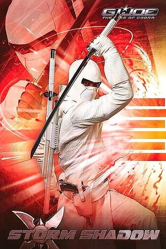 G.I. Joe: Rise of Cobra Storm Shadow