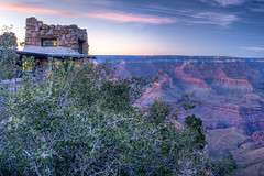 Grand Canyon (Anders Illum) Tags: sunset canon landscape nationalpark grandcanyon canonef2470mmf28lusm hdr grandcanyonnationalpark polarizingfilter polfilter grandcanyonnationalparkarizona canon400d hdrpro