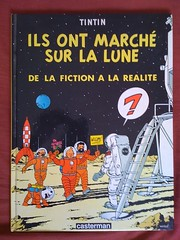 Tintin on the Moon (hairydalek) Tags: moon photography space cartoon tintin calculus apollo haddock iphone herge iphonephotography iphoneography