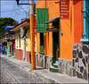 Ajijic II (uteart) Tags: mexico mainstreet colorful village jalisco explore cobbles frontpage ajijic utehagen uteart