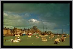 BARFLEUR - le port (@lain G) Tags: mer port normandie bateau manche cotentin barfleur francelandscapes leuropepittoresque