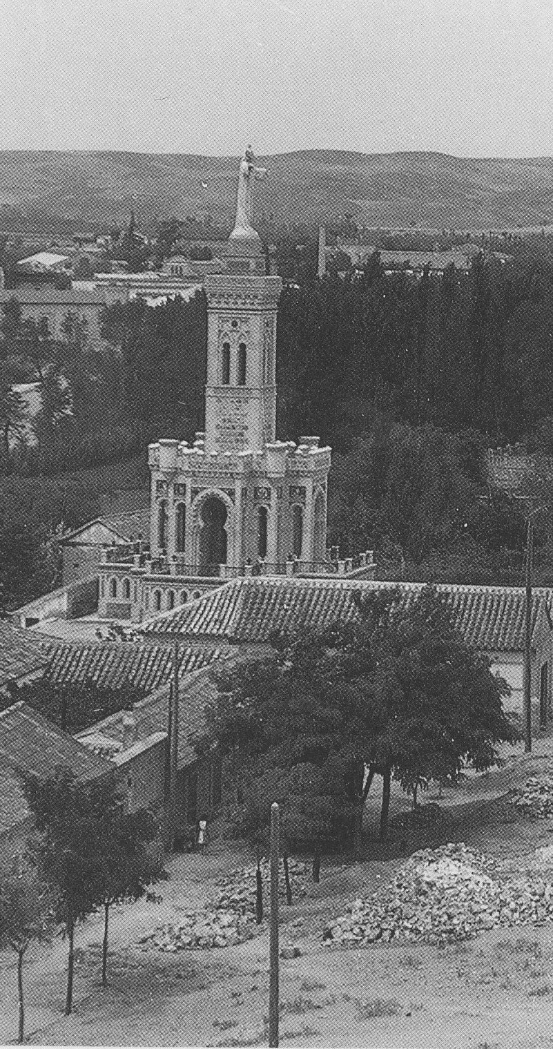 Monumento al Corazón de Jesús de Toledo al poco de inaugurarse en 1933