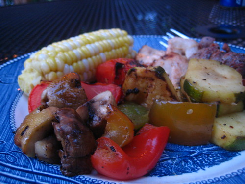 grilled dinner.
