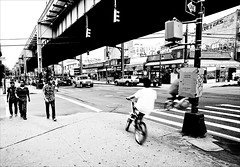 {241/365} (dakota.morrison) Tags: nyc bw queens woodside fromthehip wordlesswednesday