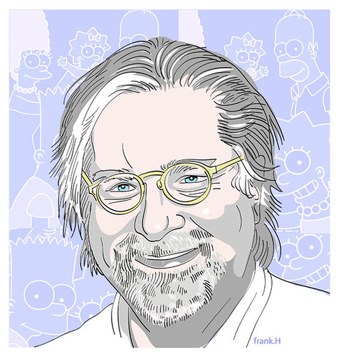 Matt Groening by frank h.