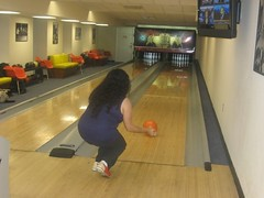Marisol bowling in Whitehouse