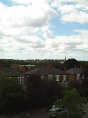 Views of London skyline near West Dulwich (avinashkunnath) Tags: clouds londonskyline westdulwich