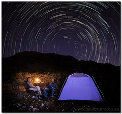 Honey, This Wine is Making my Head Spin! (Panorama Paul) Tags: camping tent explore frontpage startrails supershot littlekaroo nohdr nikfilters vertorama nikond300 wwwpaulbruinscoza paulbruinsphotography