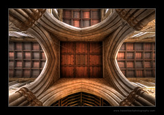 UK - England - Ceiling of St Mary's Church (Hasselbach Photography) Tags: uk england church architecture mac flickr pattern arch leicestershire faith religion border belief stroke arches ceiling archway stmaryschurch meltonmowbray photomatix hasselbach aperture2 borderfx nikond300 ryanhasselbach hasselbachphotography strokeborderfx