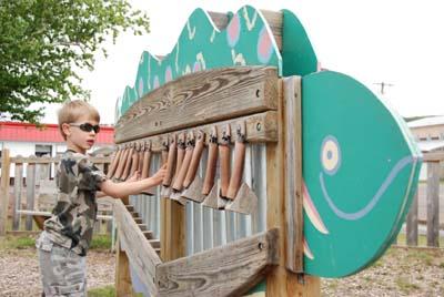 east dock xylophone
