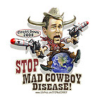 stop mad cowboy disease t-shirt