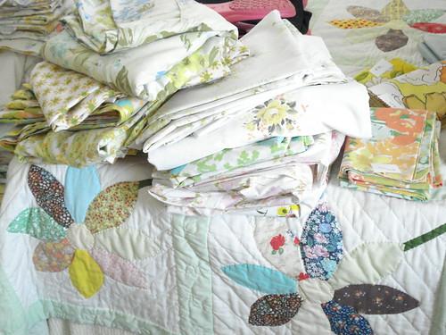 More vintage linens
