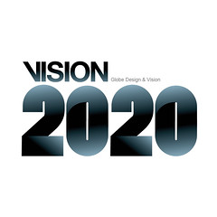 VISION2020 Logo design/Typography (w.wei) Tags: word logo typography design graphic chinese illustrations font type illustrator create typo