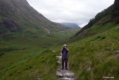 Jim photographing Ron - Glen Coe, Scotland