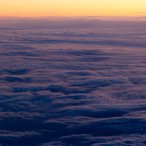 * above the clouds