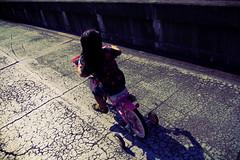 sabi-24 (SABITERU) Tags: pink bike japan kids children eos japanese kid child vivid   osaka