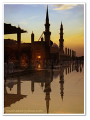 After-the-rain-Ramadan day-2 (ArabianLens.com) Tags: sunset rain evening muslim islam medina ramadan     madinah