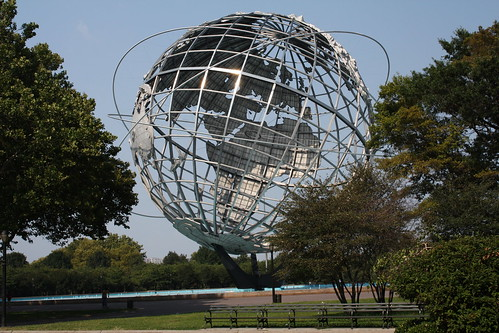Globe at Flushing Meadows, Queens