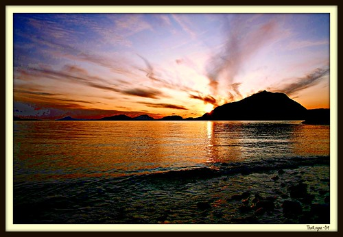 Sunset Øygardsbukta II