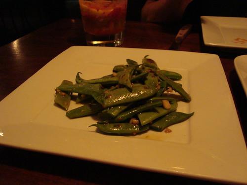 Blistered Romano Beans
