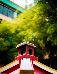 Chimney in the Temple (firdaus usman) Tags: chimney indonesia temple 50mm fuji superia canonae1 asa200 bogor vihara canonfd dhanagun f18sc firdaususman