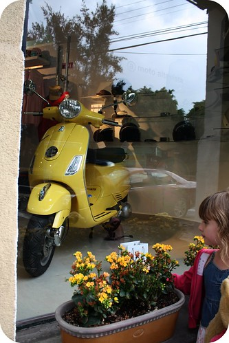 Vespa in Condesa by you.