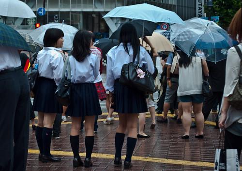 Colegialas en Shibuya