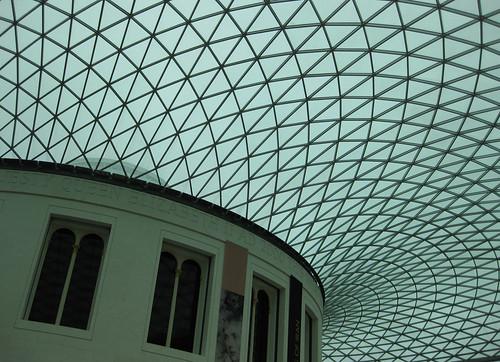 Teito patio principal Museo Británico (Londres)