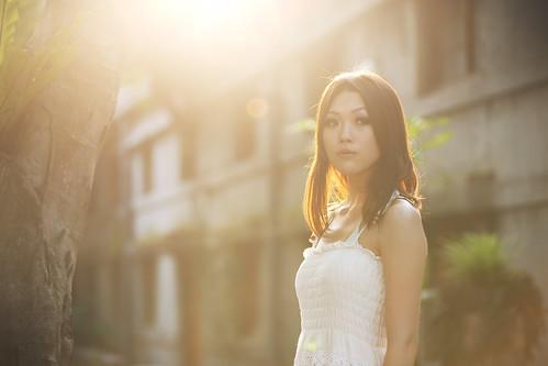 フリー写真素材, 人物, 女性, アジア女性, ドレス,